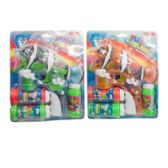 48 Units of CLEAR FISH BUBBLE GUN - Toy Weapons
