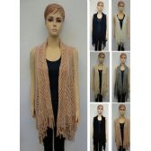24 Units of Knitted Vest [Diamond Pattern]