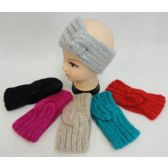 12 Units of Hand Knitted Ear Band [Loop-Linked End] - Ear Warmers