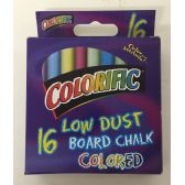 48 Units of 16 Low Dust Board Chalk Colored