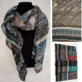 48 Units of Fashion Scarf [Wild] - Womens Fashion Scarves