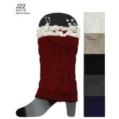 48 Units of Lace Top Boot Cuff