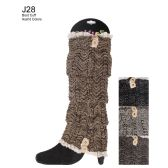 48 Units of Assorted Color Boot Cuff