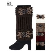 48 Units of Embellished Boot Cuff