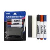 """48 Units of Marker 3pc+Eraser Water Board 1.7*4.3"""" Packing 1/Pc"""