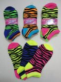 48 Units of Ladies/Teen Anklets 9-11[ Colorful Chevron]