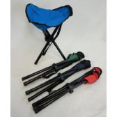 "24 Units of 16"" 3-Legged Camping Stool"