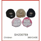 72 Units of Kids Animal Hat
