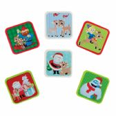 144 Units of Rudolph The Red-Nosed Reindeer Character Eraser