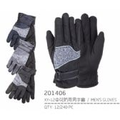 72 Units of Men's Asst Color Gloves