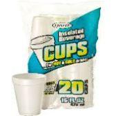 60 Units of 20CT 16 oz. FOAM CUP