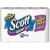 72 Units of SCOTT SINGLE PLY TISSUE - Toilet Paper Holders