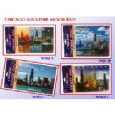 144 Units of Chicago Souveneir Mouse Pad - COMPUTER ACCESSORIES