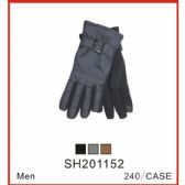 48 Units of Men's Touch Screen Gloves - Conductive Texting Gloves