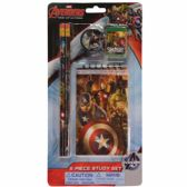 48 Units of Avengers 5 Piece Study Kit - School Supply Kits