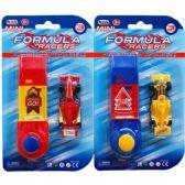 """48 Units of 3 Inch Mini """"Formula Car"""" w. Launcher"""