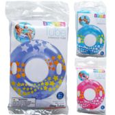 """24 Units of 36"""" STARGAZE TUBES IN PEGGABLE POLY BAG, 3 ASSRT CLRS - Inflatables"""