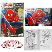 96 Units of Spiderman Giant Coloring and Activity Books