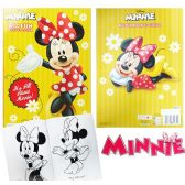 72 Units of Disney'sMinnie Mouse Jumbo Coloring Books