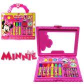 24 Units of 22 Piece Disney's Minnie's Bow-Tique Travel Art Cases