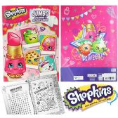 24 Units of Shopkins Jumbo Coloring & Activity Books - Coloring Books