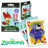 36 Units of Disney's Zootopia Jumbo Playing Cards - Card Games