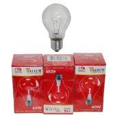 80 Units of 3PC CLEAR LIGHT BULBS 40W - Lightbulbs