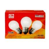 80 Units of 3PC CLEAR LIGHT BULBS 60W - LIGHTBULBS