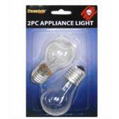 96 Units of 2PC 40 WATT APPLIANCE LIGHT BULBS - Lightbulbs