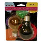 96 Units of 2PC LIGHT BULB ASST COLORS - Lightbulbs