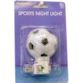 96 Units of SPORTS NIGHT LIGHT ASST STYLE - Night Lights