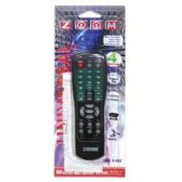 96 Units of ZOOM 4 IN 1 REMOTE CONTROL BLACK - Television Antennas & Remote Controls