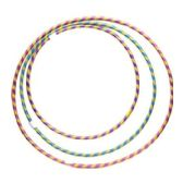 108 Units of HULA HOOP STRIPE GLITTER ASST S.M.L