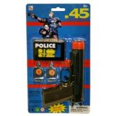 72 Units of POLICE .45 SOFT - Toy Weapons