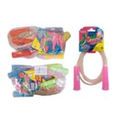 360 Units of PLASTIC JUMP ROPE RAINBOW - Jump Ropes
