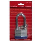 72 Units of 50MM LAMINATED LONG SHANK LOCK - Padlocks and Combination Locks