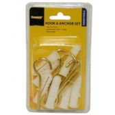 96 Units of 14 PIECES 12MM HOOK & ANCHOR