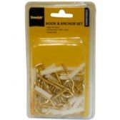 96 Units of 48 PIECE 6MM HOOK & ANCHOR