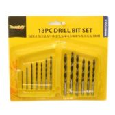 96 Units of 13PC DRILL BIT SET - Drills and Bits
