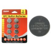 144 Units of 8pc 3v Batteries - BATTERIES