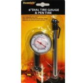 96 Units of DIAL TIRE GAUGE & PEN TIRE GAUGE