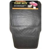 25 Units of 4PC BLACK CAR MAT24x16.5, 14x16.5 INCH