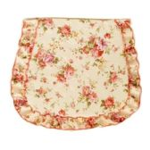48 Units of FLORAL SEAT COVER WITH RUFFLE