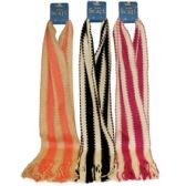 72 Units of STRIPE SCARF - Winter Scarves