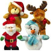 48 Units of Christmas Plush Assortements - Christmas