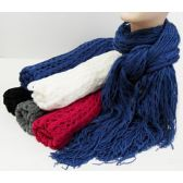 36 Units of Multi Purpose Scarf - Winter Scarves