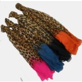 60 Units of Leopard Print Scarf - Winter Scarves