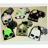 24 Units of 2 Pc Glow in the Dark Hat & Glove Set - Winter Sets Scarves , Hats & Gloves