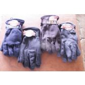 60 Units of Mens Fleece Winter Gloves - Fleece Gloves