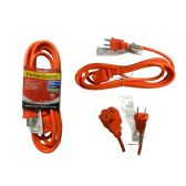 36 Units of 9 Foot Outdoor Extension Cord - ADAPTRS/COUPLERS/JACKS/OUTLETS